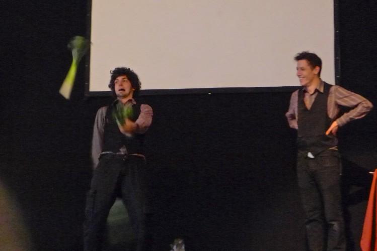 Leek juggling