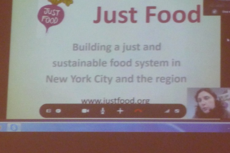 Just Food's Paula Lukats, live from NYC
