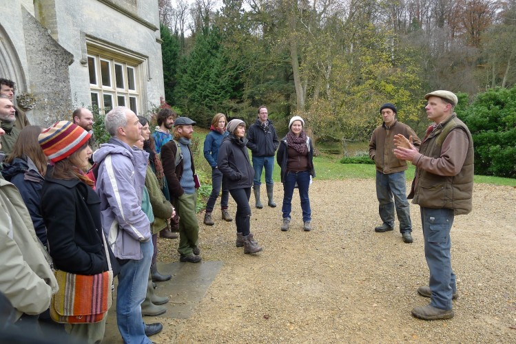 Mark Harrison and Sam Hardiman talk about the history of Stroud Community Agriculture