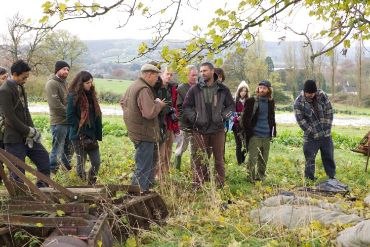 Among our friends at the Stroud CSA tour last Dec at the CSA Netowrk lauch conference