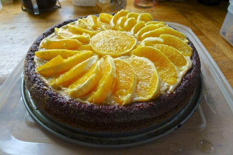 Hazelnut Cake Recipes Uk: Orange, Squash And Hazelnut Cake