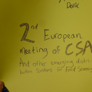 2nd European CSA Meeting
