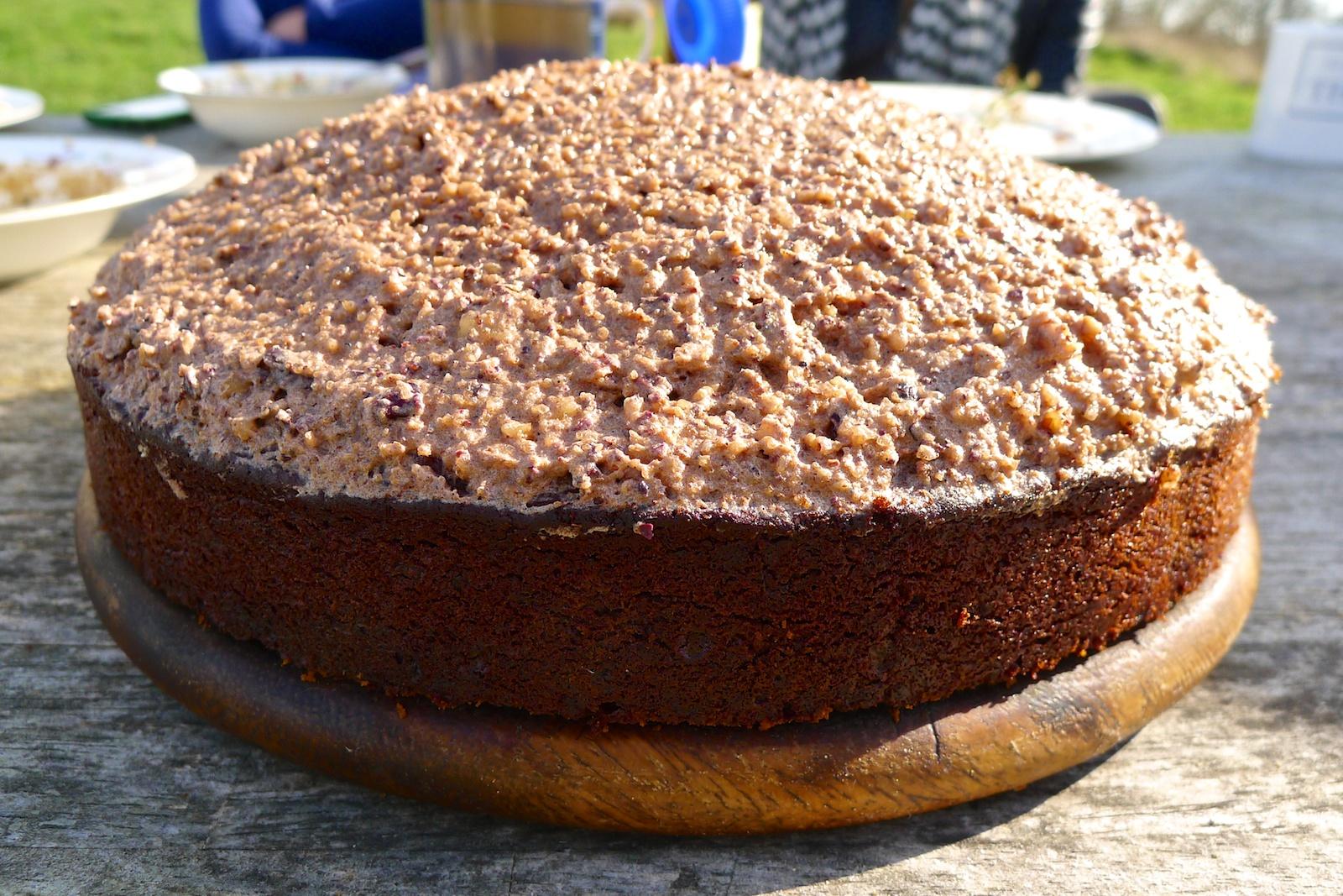 Vegan Cake Recipes Uk: Vegan Tetra-nut Cake