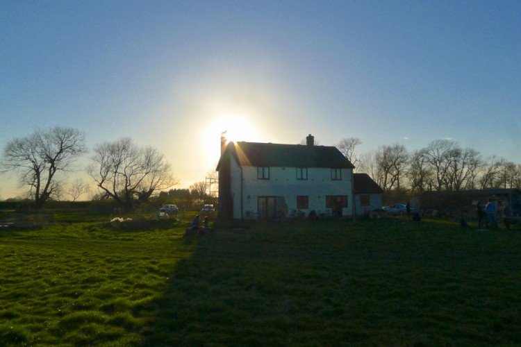 Willow Farm, our home